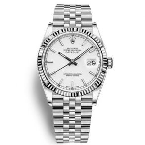 Rolex Datejust 116234 Replica White Dial 36mm Ladys Watch